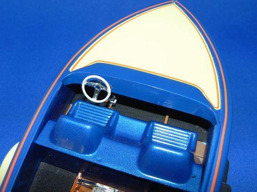 プラモデル組立品ボート