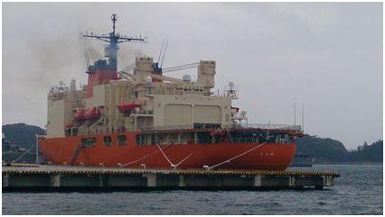 海上自衛隊砕氷艦AGB5003 しらせ