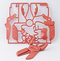 クワガタのプラモデル制作サンプル品